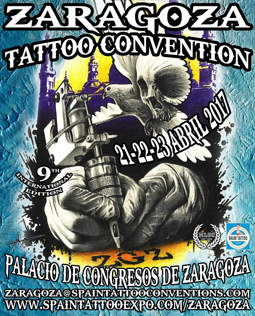 Zaragoza Tattoo Convention 2017 - cartel