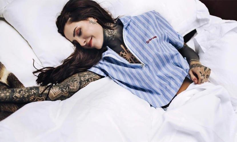 Candelaria Tinelli y su nuevo tatuaje de escorpión