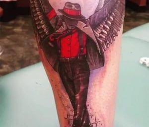 Tatuaje de Prince Jackson