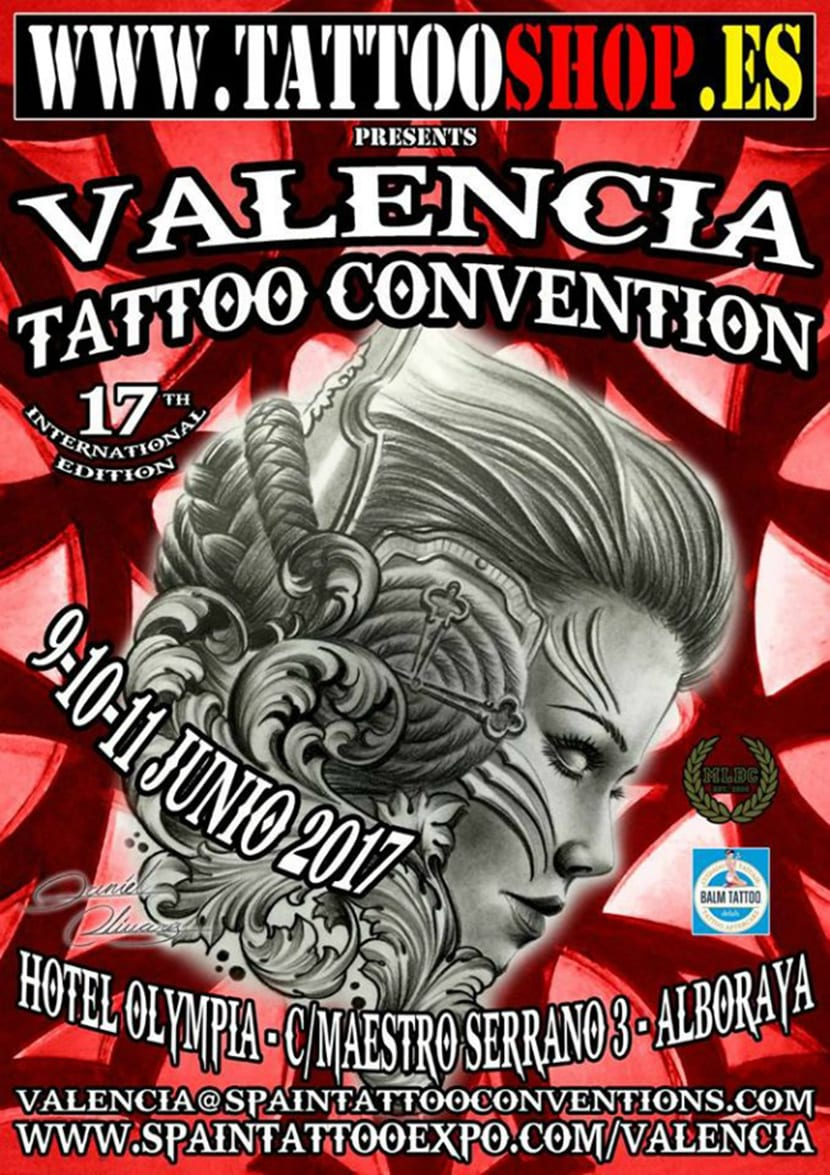 Valencia Tattoo Convention 2017 - cartel