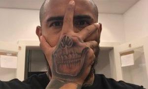 Tatuaje de Arturo Vidal