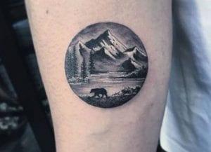 tatuajes redondos osos