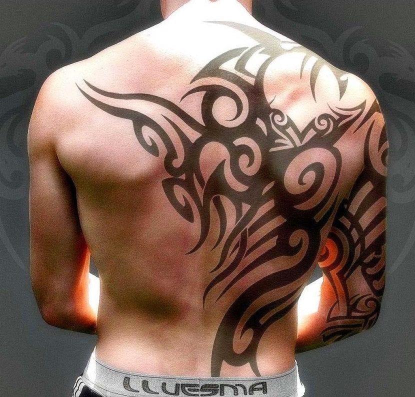 Imagenes De Tattoo En La Espalda Para Hombres Tattoo Design