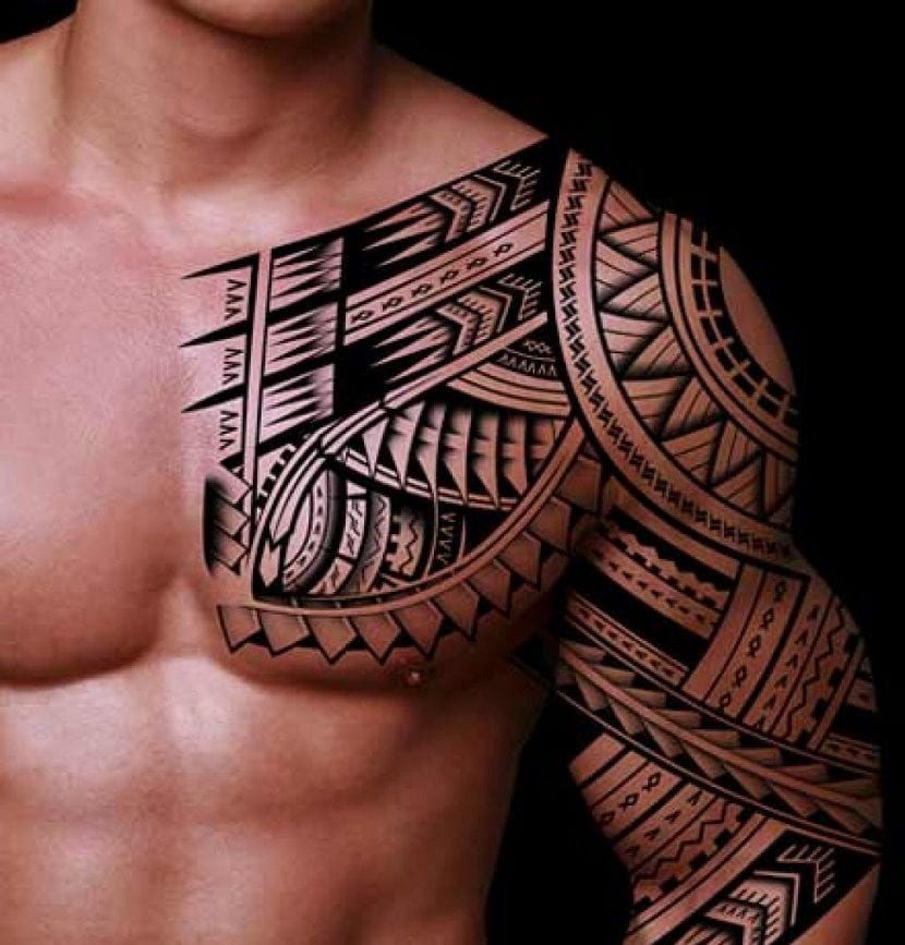 tatuajes de tribales para hombres. Black Bedroom Furniture Sets. Home Design Ideas