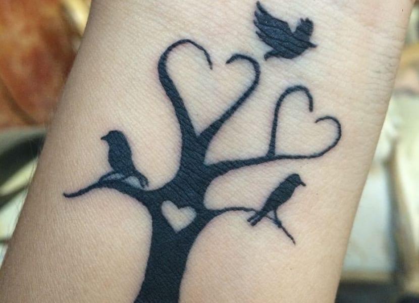 Smbolos de familia en tatuaje Preciosas demostraciones de amor