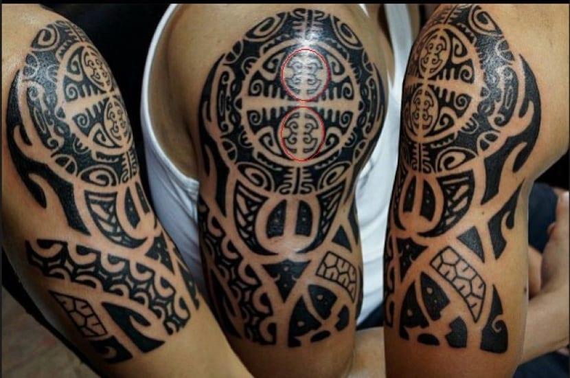 Tatuaje Enata polinesio