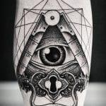 Tatuajes de cerraduras