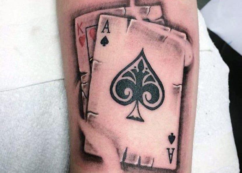 Tatuajes De As De Picas Significado Y Recopilación De Diseños