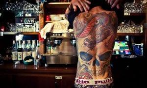 Tatuajes de espalda completa