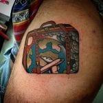 Tatuajes de maletas