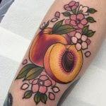 Tatuajes de melocotones