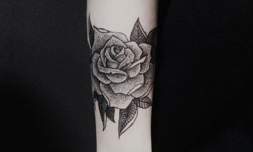 Tatuajes De Rosas Negras Significado Y Recopilacion De Disenos
