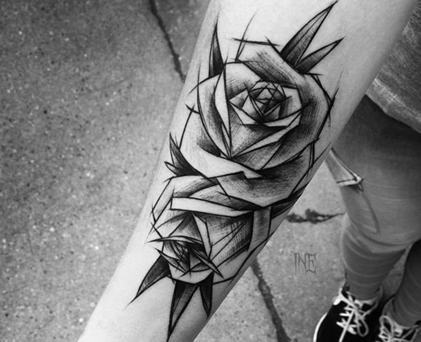 Tatuajes De Rosas Negras Significado Y Recopilación De Diseños