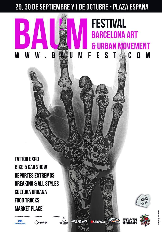 BAUM FEST 2017 - cartel