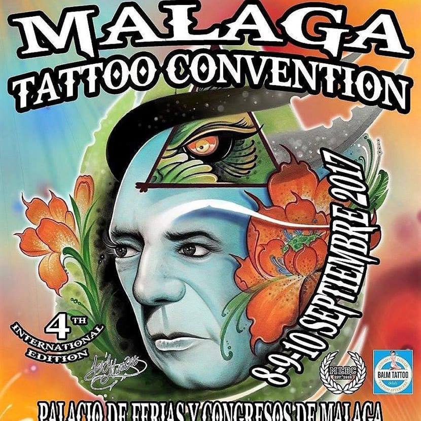 Málaga Tattoo Convention 2017 - cartel