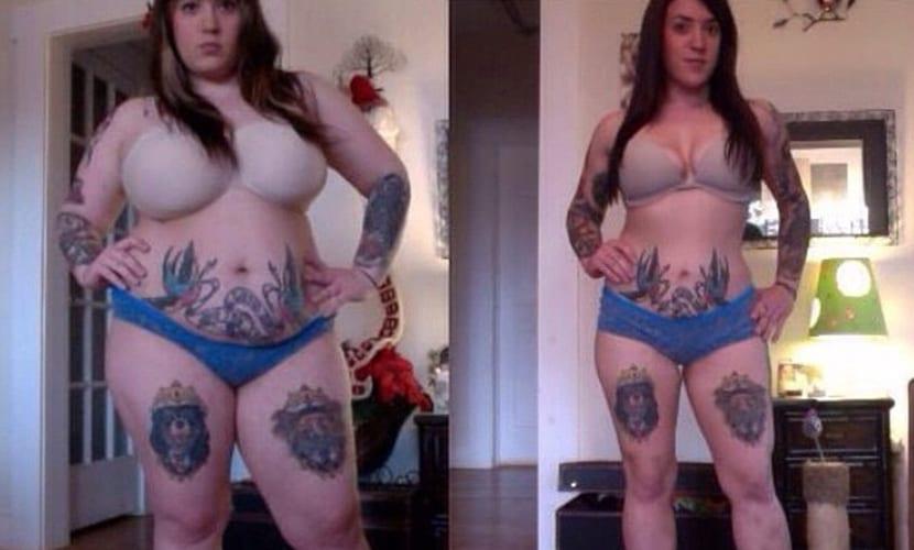 La pérdida de peso afecta a los tatuajes
