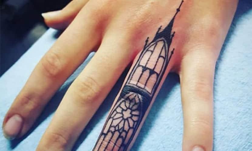 Tatuajes arquitectónicos: la belleza por la arquitectura y monumentos