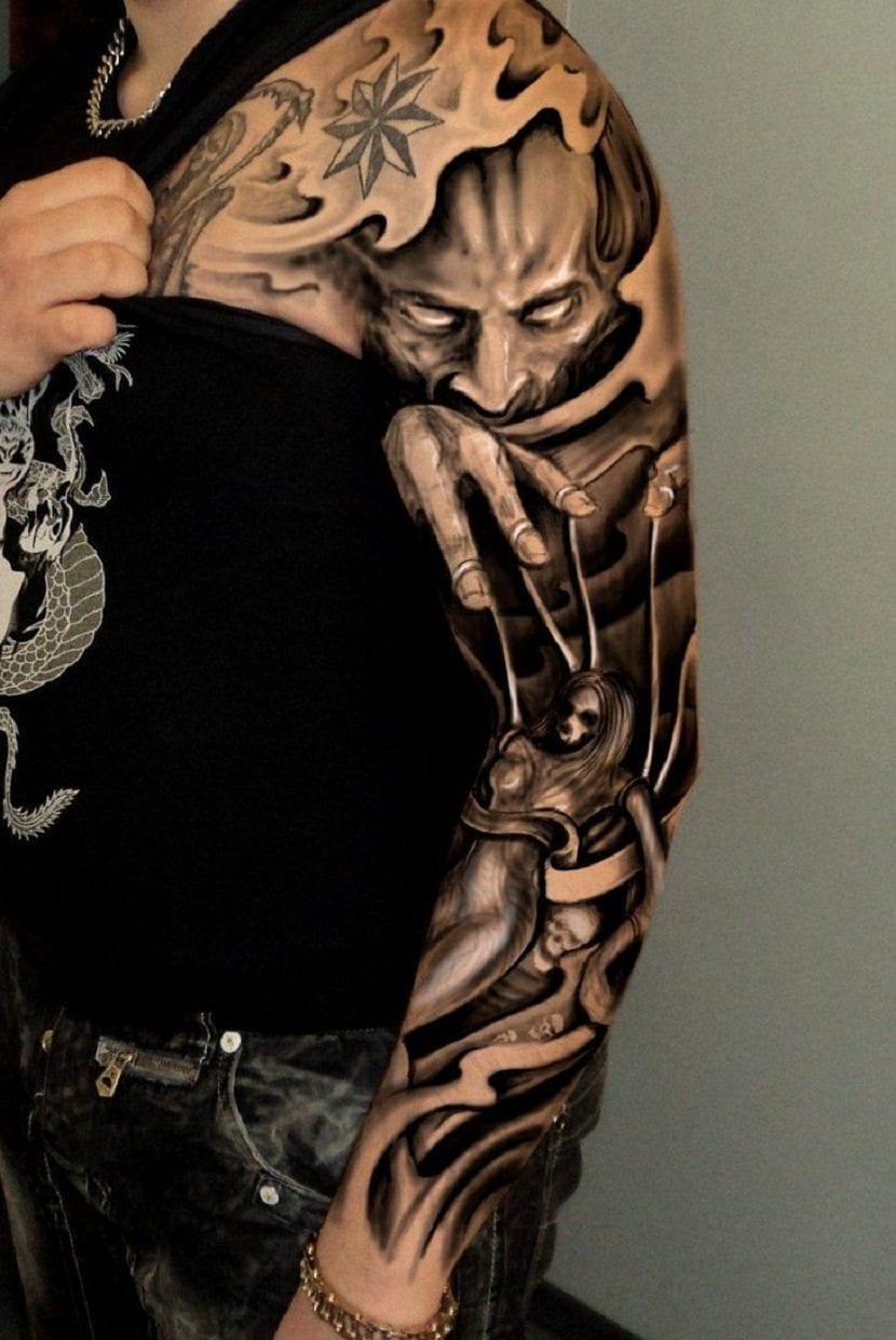 Tatuajes En Todo El Brazo