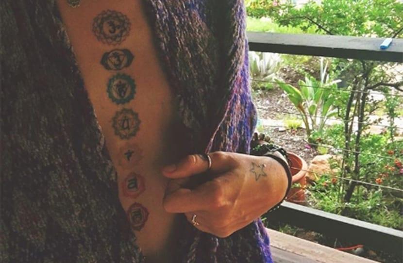 Nuevo tatuaje de Paris Jackson
