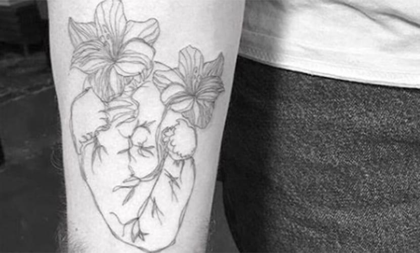 Nuevo Tatuaje de Sam Smith - se tatúa un corazón en el brazo