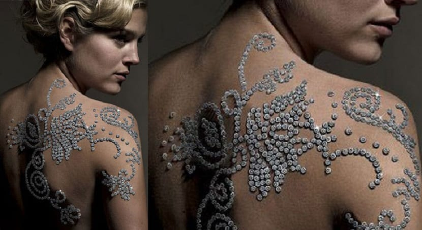 Tatuaje de diamantes más caro del mundo
