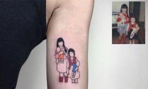 Tatuajes nostálgicos de Alican Gorgu