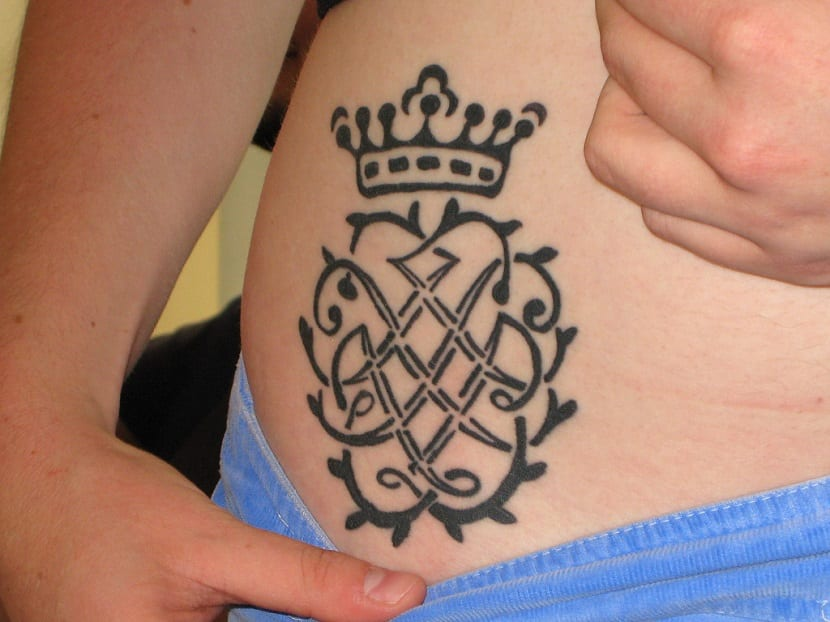 Tatuaje de escudos
