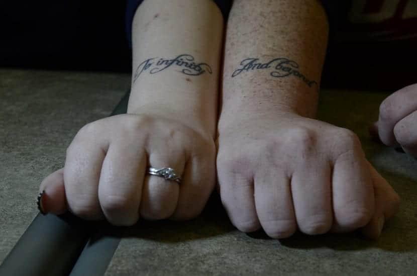 Frases tatuadas parejas