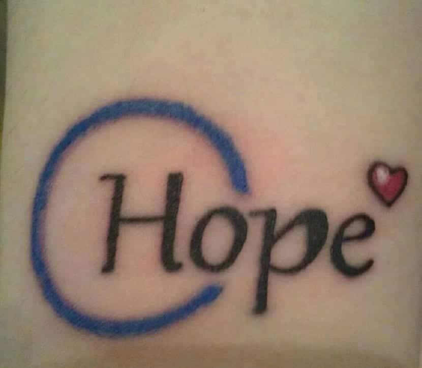 Tatuaje esperanza