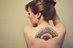 Tatuajes de abanicos