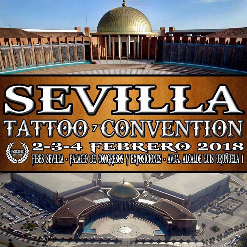 Sevilla Tattoo Convention 2018 - cartel