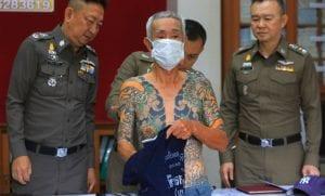 Detenido por sus tatuajes el jefe de los Yakuza