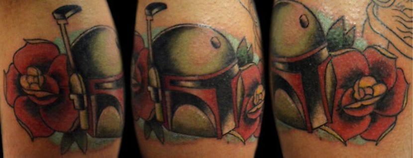 Tatuaje de Boba Fett