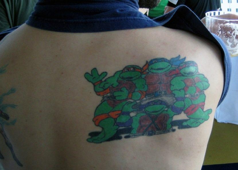 Tatuaje de las tortugas ninja