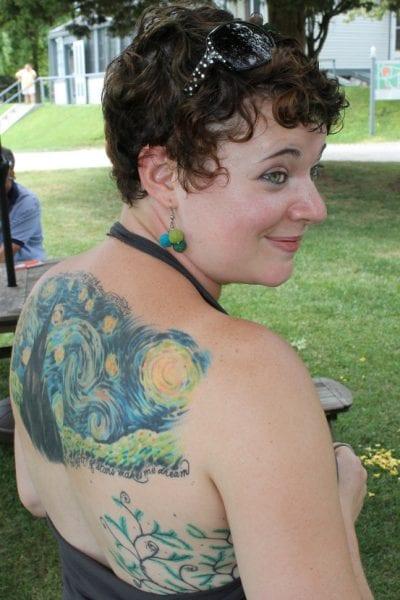 Tatuaje de Van Gogh
