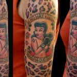 Tatuajes de mujeres boxeadoras