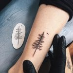 Tatuajes de pinos
