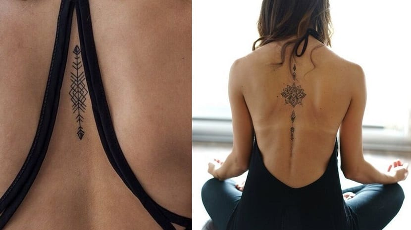 Tatuajes en el medio de la espalda