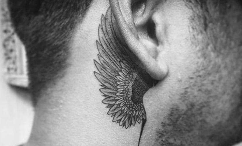 Tatuajes Detrás De La Oreja Para Hombres Diseños E Ideas