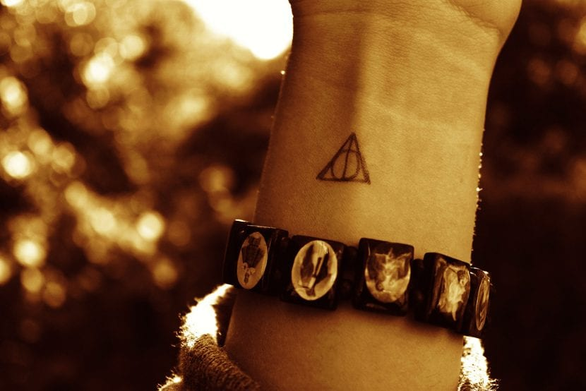 Tatuaje Deathly Hallows