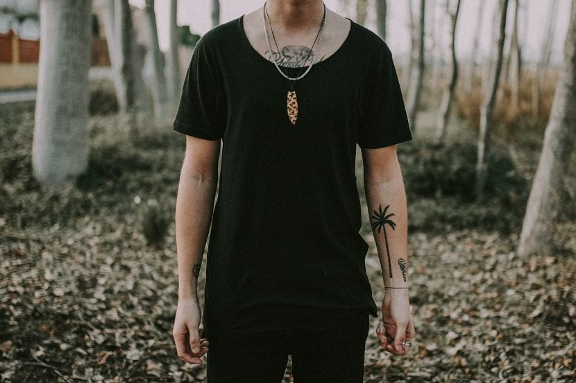 Tatuaje de palmera