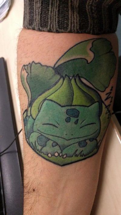 Tatuaje de Bulbasaur