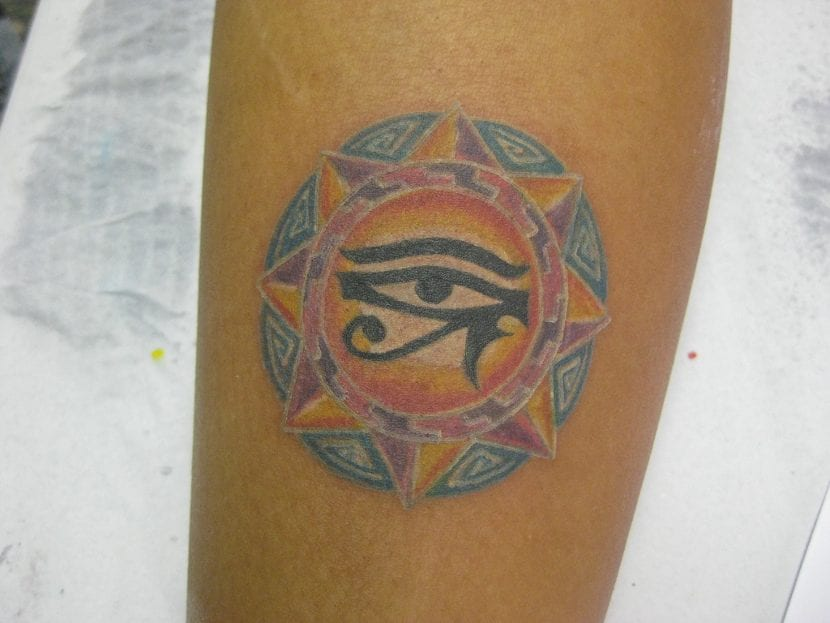 Tatuaje de Horus