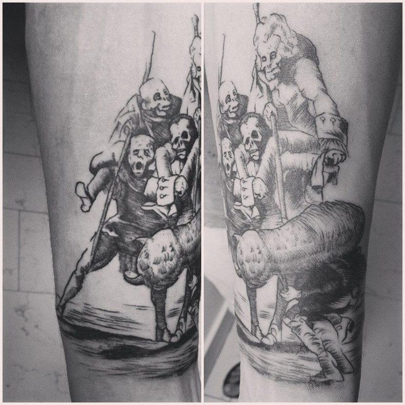 Tatuaje de Goya
