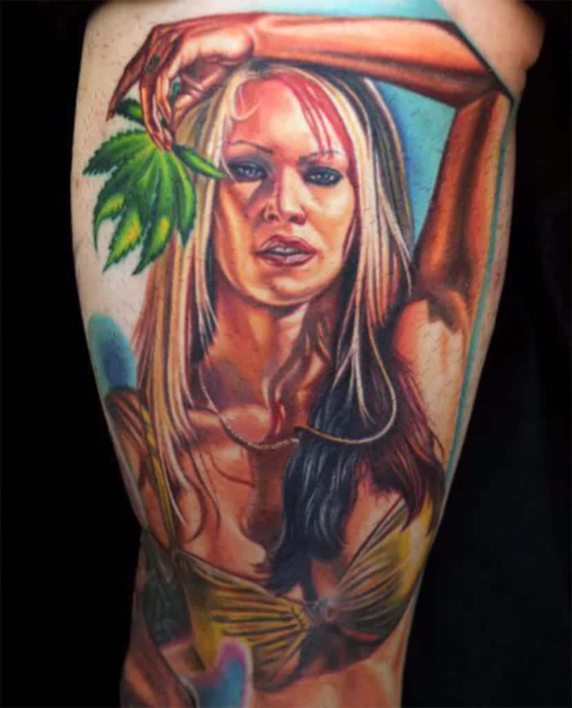 Actriz Porno Con Rosa Azul Tatuada En El Vientre tatuajes de actrices porno, ¿un tattoo bizarro y/o excesivo?