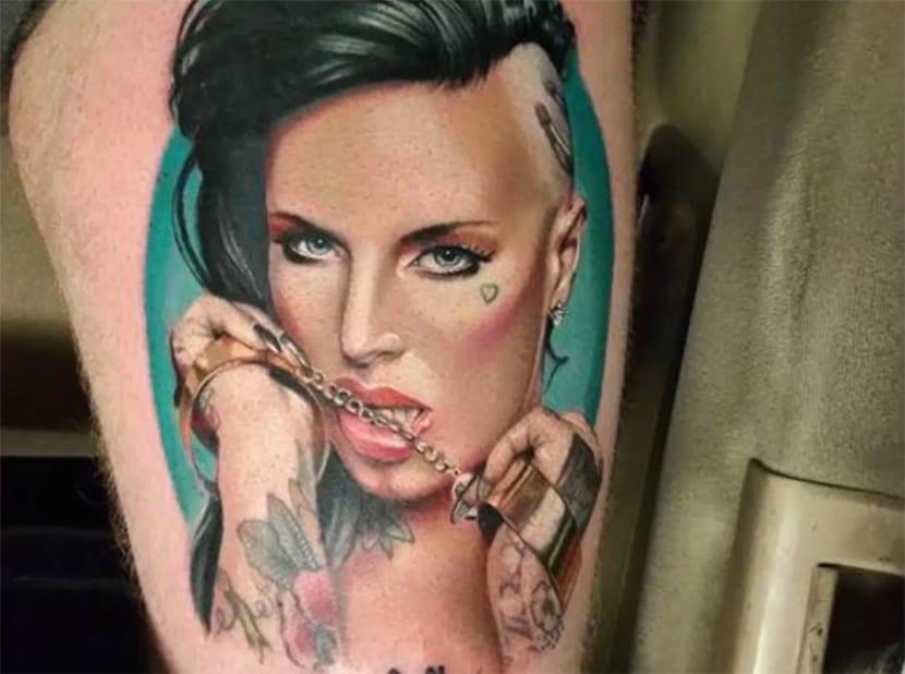 Tatuajes de actrices porno