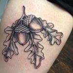 Tatuajes de bellotas