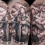 Tatuajes de Caballeros Medievales