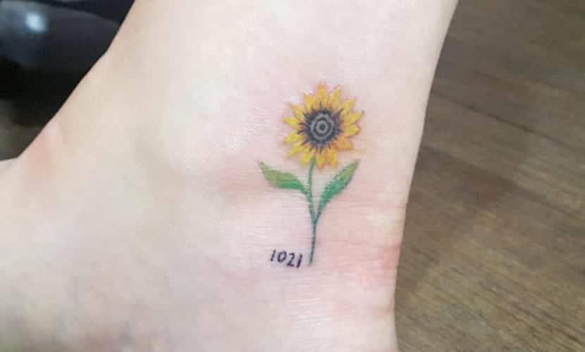 Tatuajes De Girasoles Recopilación De Diseños Y Significado