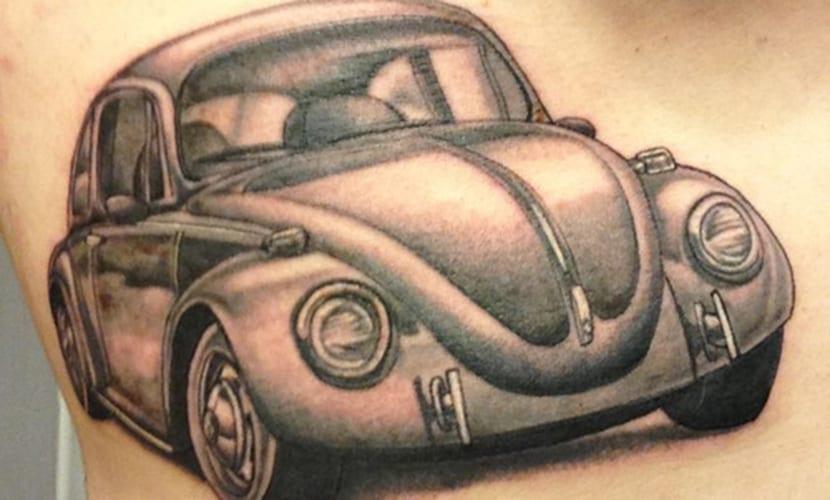 Tatuajes del Volkswagen Beetle